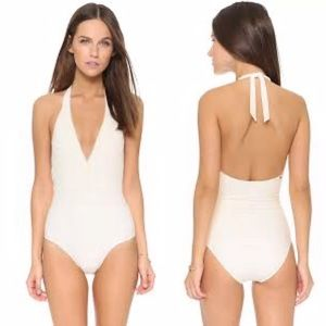Red Carter • cream neon Bohemia lace one piece